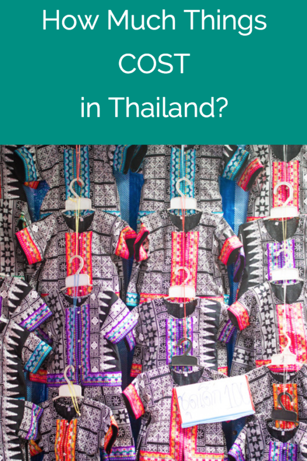 How Much Things Cost in Thailand!