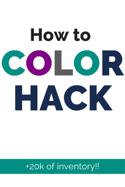 How to color hack pinterest image