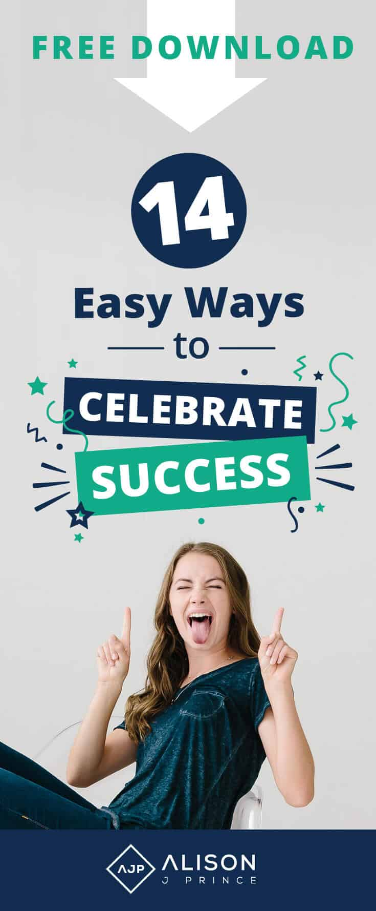 Free Download - 14 Ways to Celebrate Success - Alison Prince