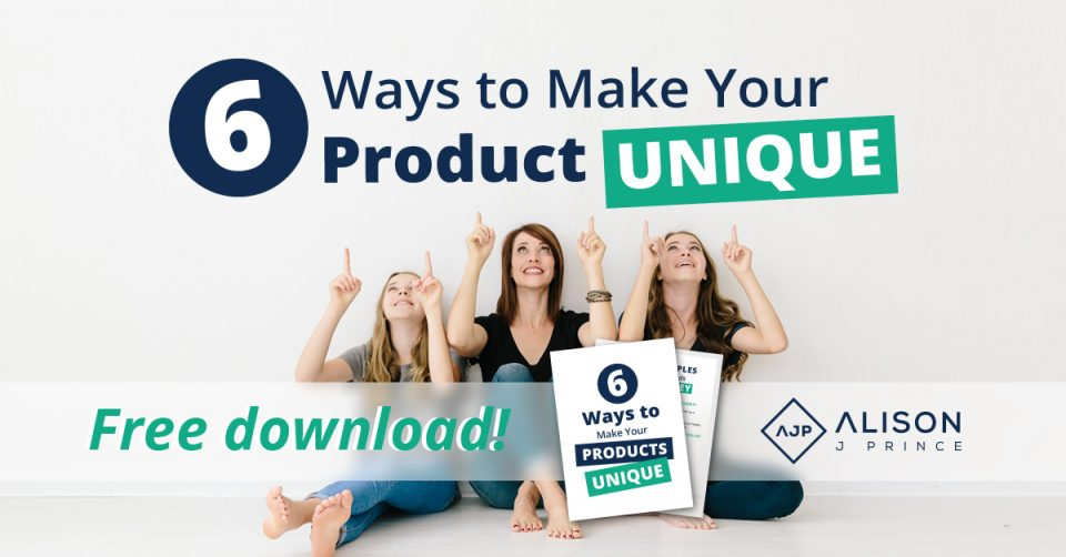 Ecommerce tips: How to make your products stand out online - Alison J. Prince