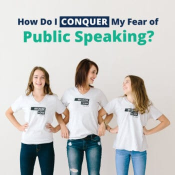 how to have confidence in public speaking