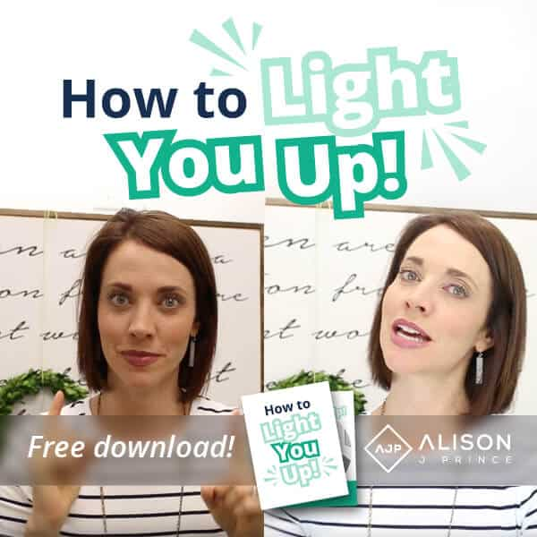 How to look good on a fb live, guide to video lighting
