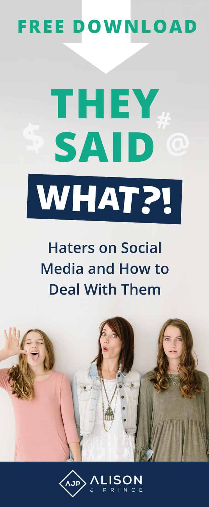 Ecommerce - dealing with haters on social media - Alison Prince