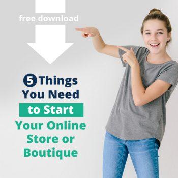 online business, online store, online boutiquie