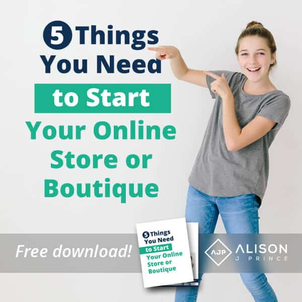 must-haves for online business, online store, online boutique, starting an e-commerce business