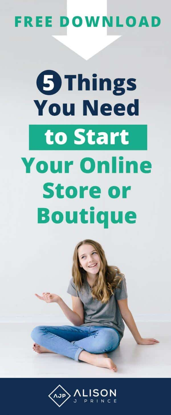 Must haves to start an e-commerce business