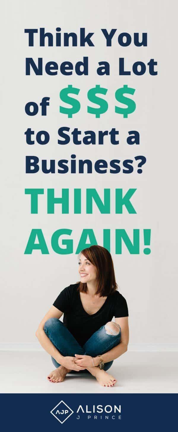 money to start an online business