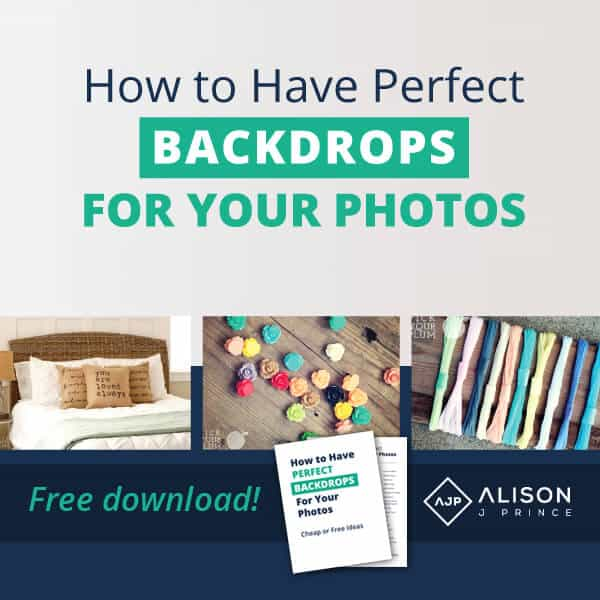 Alison Prince - Cheap photo backgrounds - online business tips