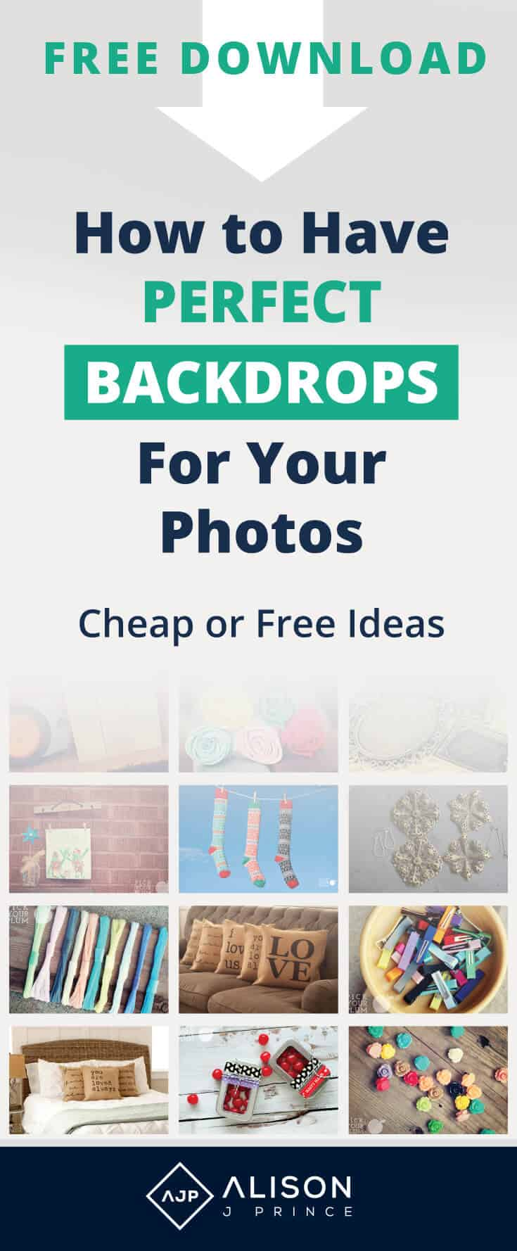 Free or cheap photo backgrounds - ecommerce product photos - backdrops for product photos