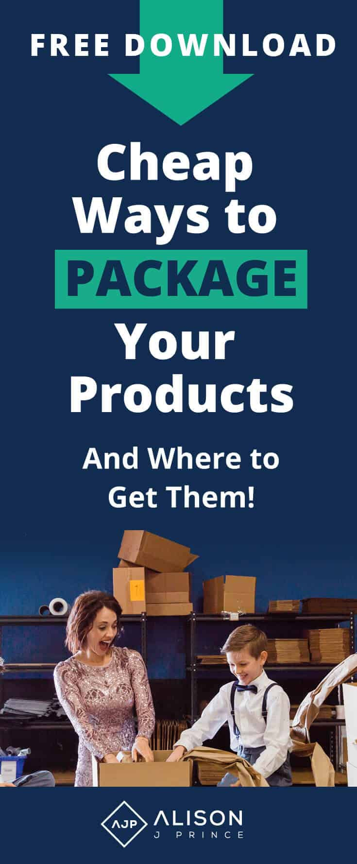 How to package e-commerce products - Alison Prince