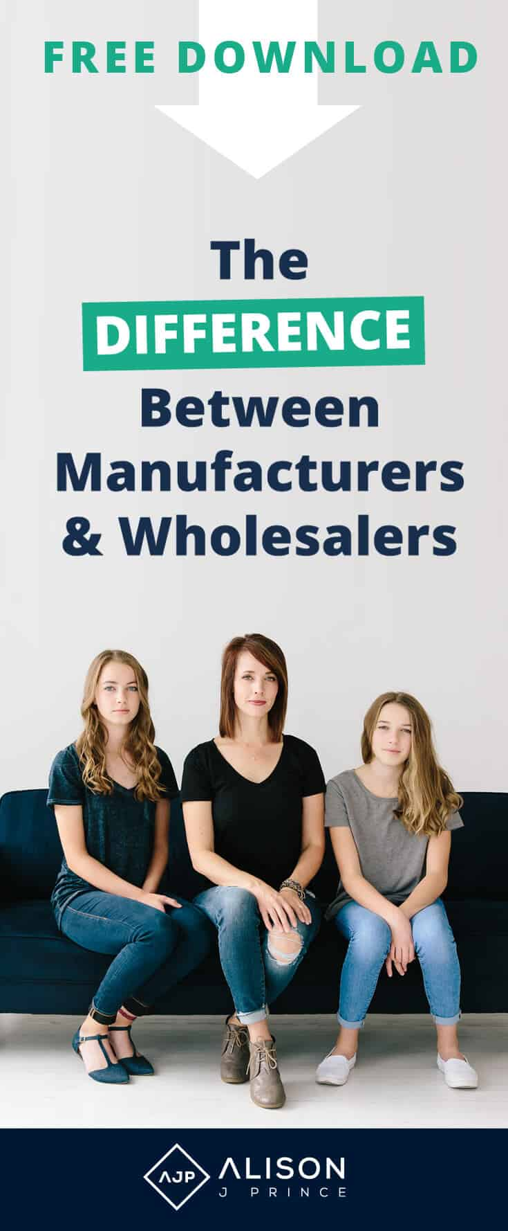 Manufacturers and Wholesalers. What's the difference? Ecommerce expert Alison Prince