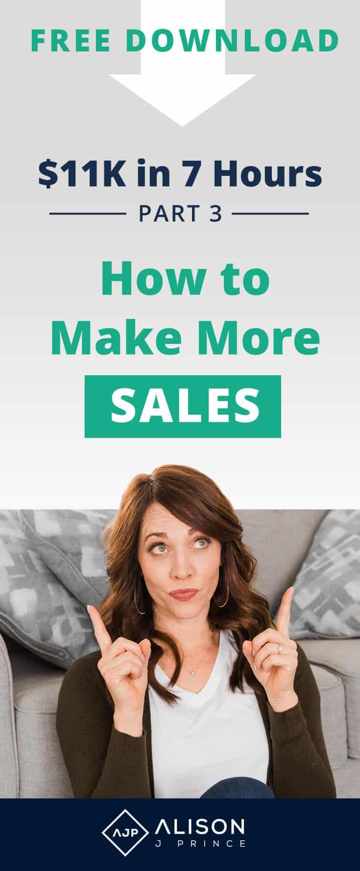 Alison Prince, Make More Online Sales, Ecommerce, Online Store