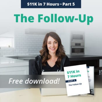 Social Proof, follow-up, Alison Prince, e-commerce success