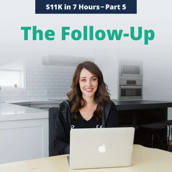 Social Proof and Follow Up - Alison Prince