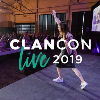 Alison J. Prince presents CLANCON Live 2019 for online business entrepreneurs