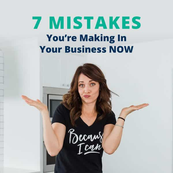 Alison J. Prince shares 7 business mistakes you're making right now...and why you need to stop.