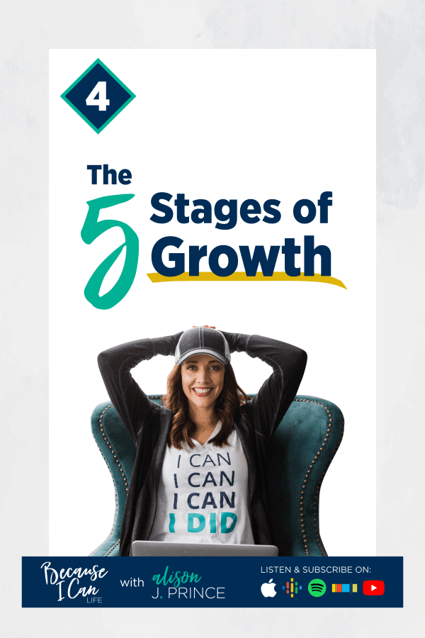 stages of personal growth