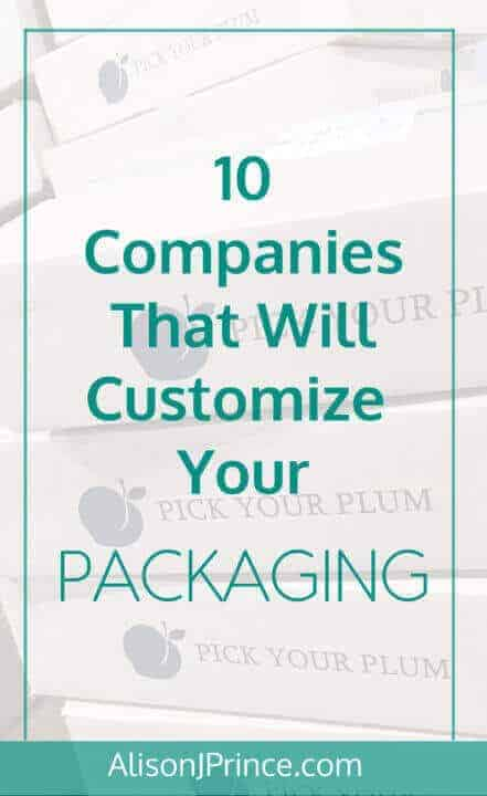 10 companies that will customize your packaging