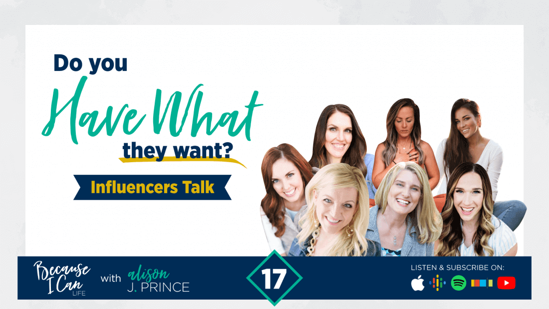 what influencers are looking for