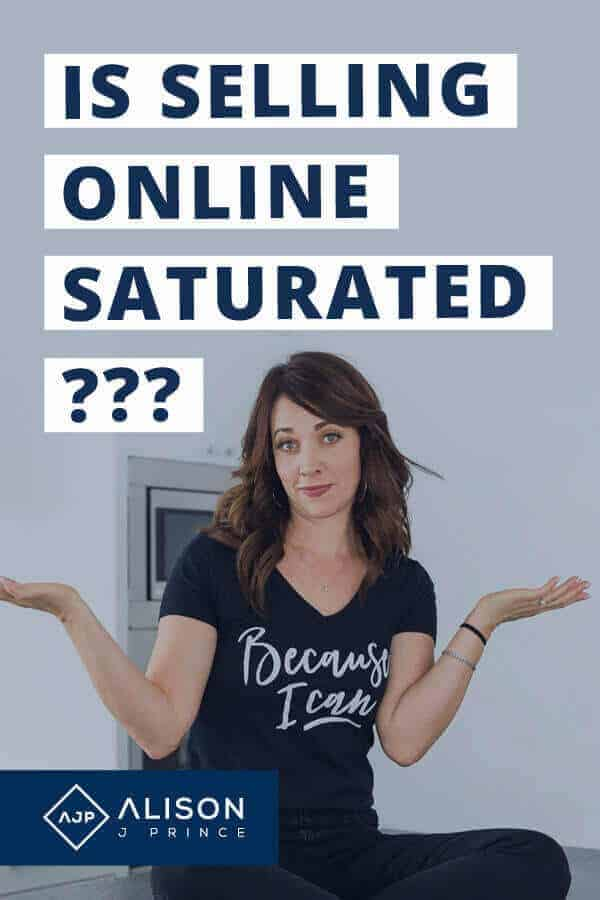 """Selling Online Saturated? Alison J. Prince says """"no."""""""