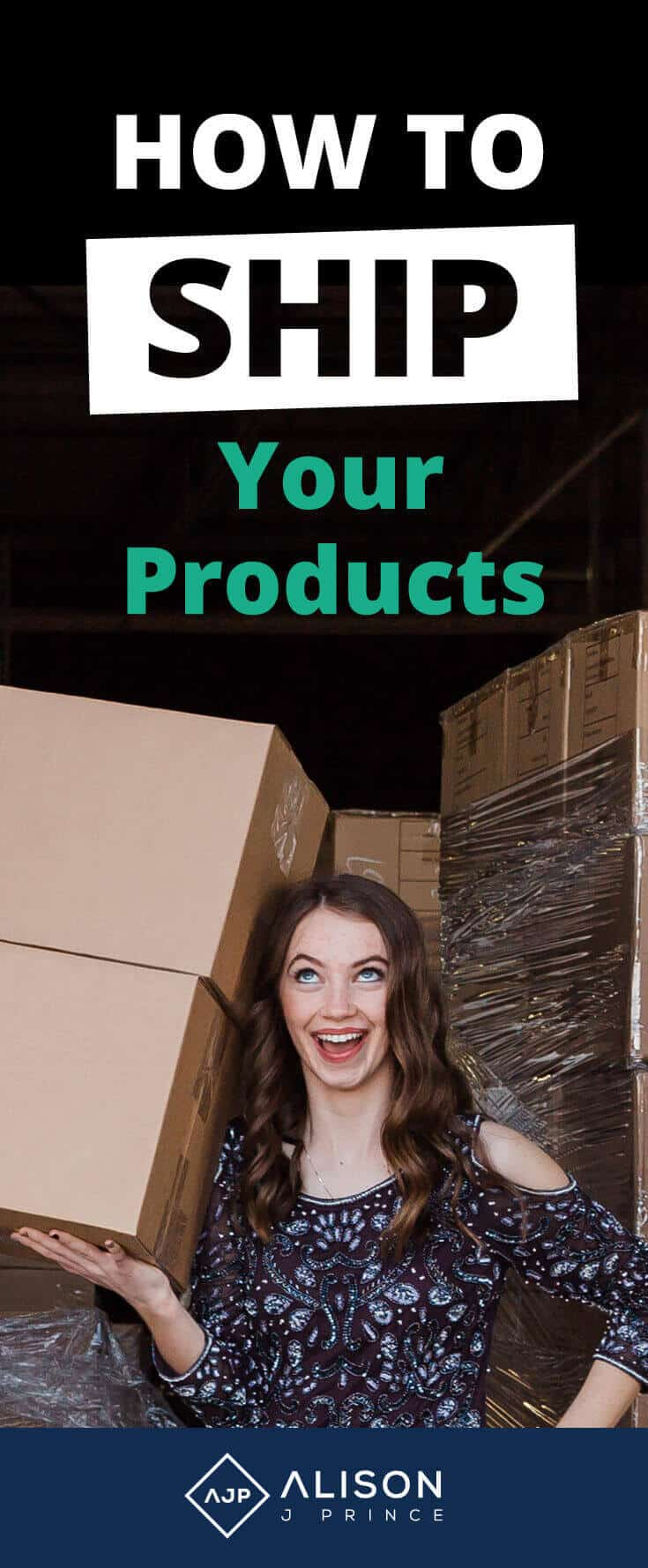 How to ship products, online business, ecommerce, Alison Prince, Shipstation