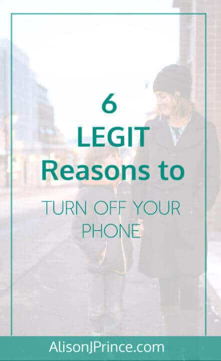 reasons to turn off your phone