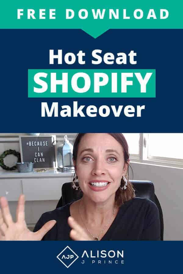 Get a free Shopify Site checklist and do your own Shopify Makeover.